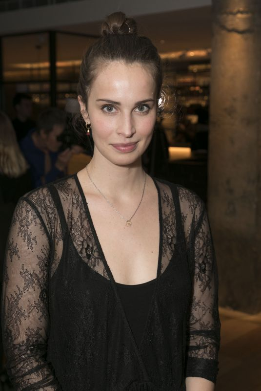 HEIDA REED at Beginning Opening Night at Ambassadors Theatre in London 01/23/2018