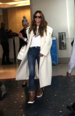 HEIDI KLUM Arrives at LAX Airport in Los Angeles 01/29/2018