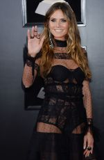 HEIDI KLUM at Grammy 2018 Awards in New York 01/28/2018