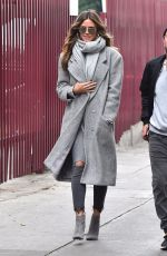 HEIDI KLUM Out for Lunch in Los Angeles 01/19/2018