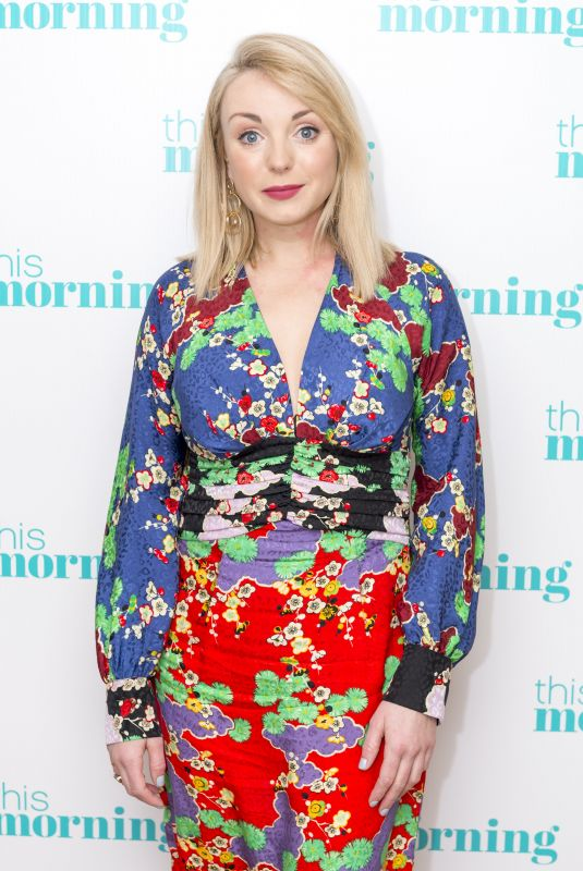 HELEN GEORGE at This Morning TV Show in London 01/05/2018