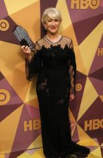 HELEN MIRREN at HBO's Golden Globe Awards After-party in Los Angeles 01/07/2018
