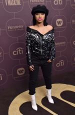 HENNESSY CAROLINA at Delta Airlines Pre-grammy Party in New York 01/25/2018
