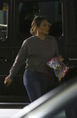 HILARY DUFF and Matthew Koma Out in Los Angeles 01/14/2018