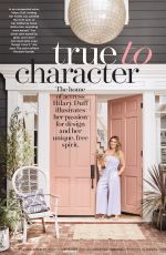HILARY DUFF in Better Home and Gardens Magazine, February 2018