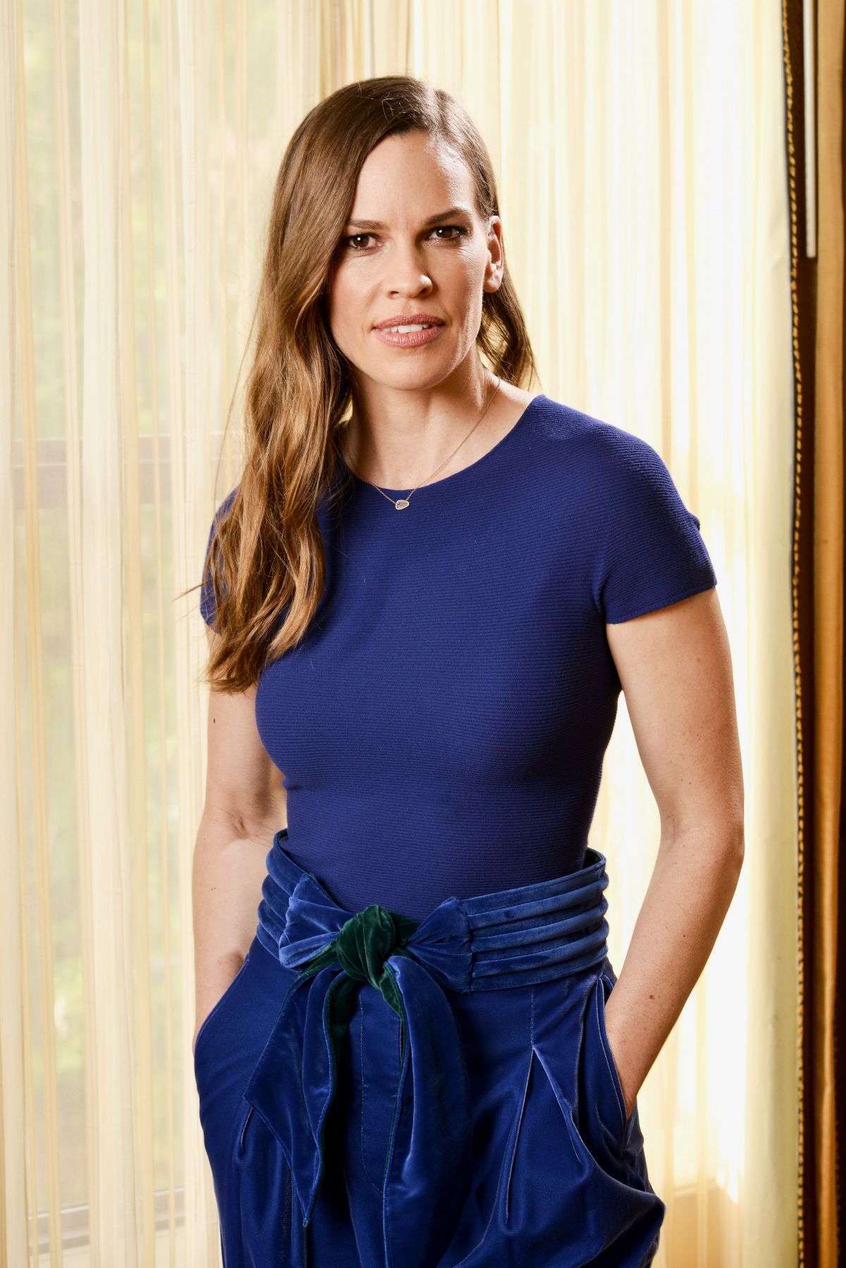 HILARY SWANK at Starwalk Panel at 2018 Winter TCA Tour in ...