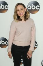 HILLARY ANNE MATTHEWS at ABC All-star Party at TCA Winter Press Tour in Los Angeles 01/08/2018