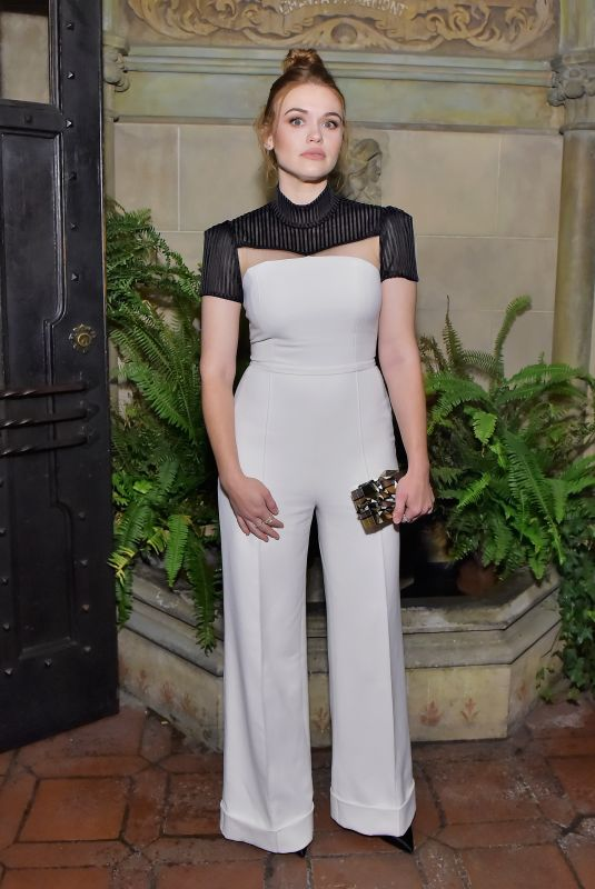 HOLLAND RODEN at Vanity Fair and Focus Features Celebrate Phantom Thread in Los Angeles 01/10/2018