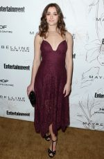 HOLLY CURRAN at Entertainment Weekly Pre-SAG Party in Los Angeles 01/20/2018