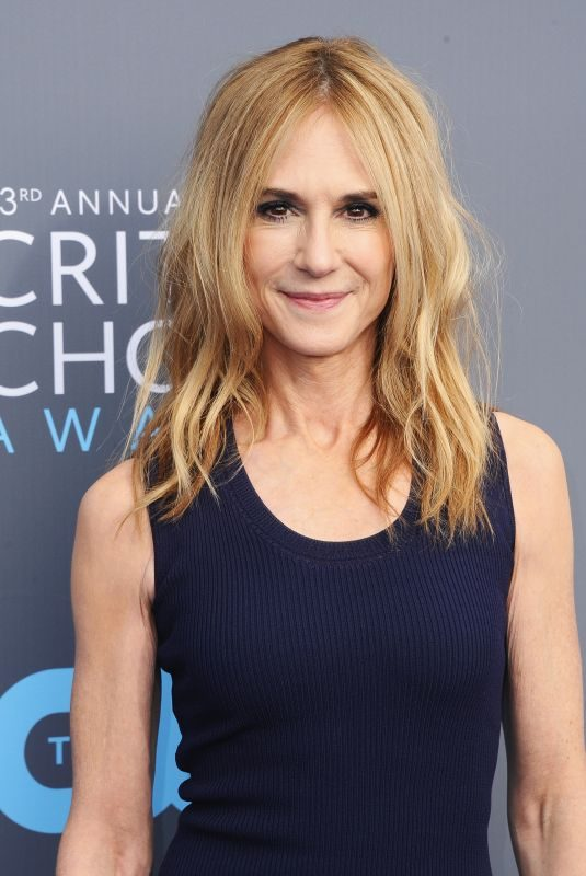 HOLLY HUNTER at 2018 Critics' Choice Awards in Santa Monica 01/11/2018
