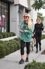 HOLLY MADISON Out and About in Los Angeles 01/06/2018