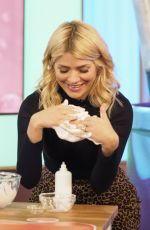 HOLLY WILLOGHBY at This Morning TV Show in London 01/17/2018