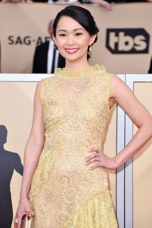 HONG CHAU at Screen Actors Guild Awards 2018 in Los Angeles 01/21/2018