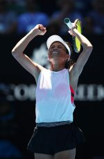 HSIEH SU-WEI at Australian Open Tennis Tournament in Melbourne 01/18/2018