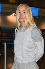 IGGY AZALEA at Los Angeles International Airport 01/27/2018