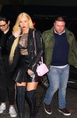 IGGY AZALEA Leaves Pre-grammys Party in New York 01/26/2018