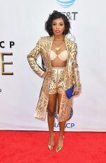 IMANI HAKIM at 49th Naacp Image Awards in Pasadena 01/14/2018