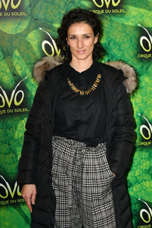 INDIRA VARMA at Cirque Du Soleil Ovo Premiere in London 01/10/2018