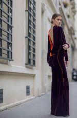 IRIS MITTENAERE at Jean-Paul Gaultier Haute Couture Spring/Summer 2018 Show in Paris 01/24/2018