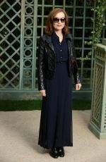 ISABELLE HUPPERT at Chanel Show at Spring/Summer 2018 Haute Couture Fashion Week in Paris 01/23/2018