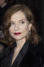 ISABELLE HUPPERT at Giorgio Armani Prive Show at 2018 Haute Couture Fashion Week in Paris 01/23/2018