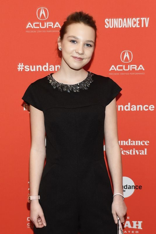 ISABELLE NELISSE at The Tale Premiere at 2018 Sundance Film Festival in Park City 01/20/2018