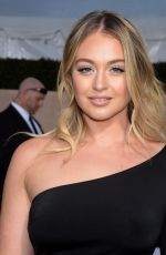 ISKRA LAWRENCE at Screen Actors Guild Awards 2018 in Los Angeles 01/21/2018