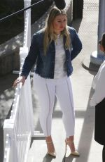 ISKRA LAWRENCE Out and About in Los Angeles 01/28/2018