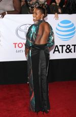 ISSA RAE at 49th Naacp Image Awards in Pasadena 01/14/2018