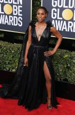 ISSA RAE at 75th Annual Golden Globe Awards in Beverly Hills 01/07/2018
