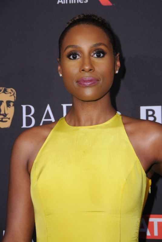 ISSA RAE at Bafta Los Angeles Tea Party in Los Angeles 01/06/2018