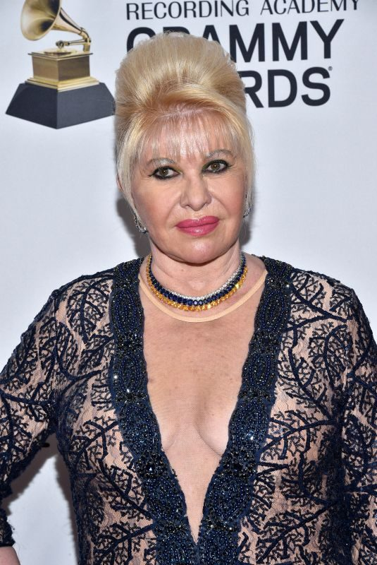 IVANA TRUMP at Clive Davis and Recording Academy Pre-Grammy Gala in New York 01/27/2018