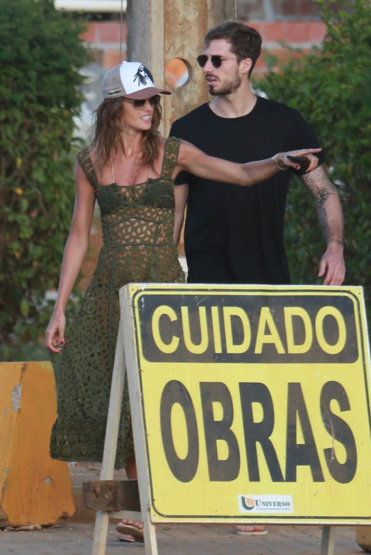 IZABEL GOULART and Kevin Trapp on Vacation in Brasil 01/14/2018