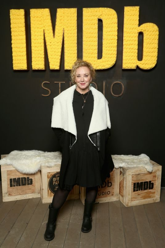 J. SMITH-CAMERON at IMDB Studio at Sundance Film Festival in Park City 01/19/2018
