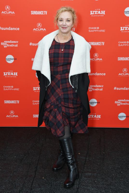 J. SMITH-CAMERON at The Tale Premiere at 2018 Sundance Film Festival in Park City 01/20/2018