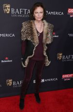 JACQUELINE BISSET at Bafta Los Angeles Tea Party in Los Angeles 01/06/2018