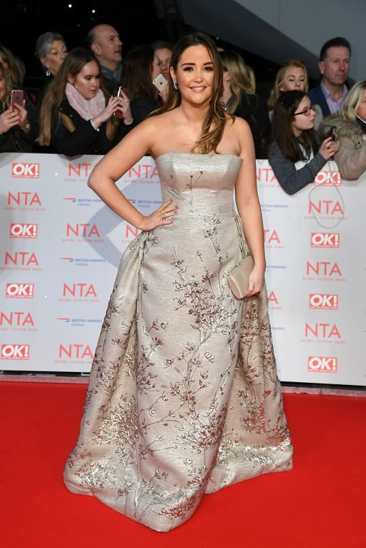 JACQUELINE JOSSA at National Television Awards in London 01/23/2018