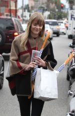 JAIME KING Out and Abour in Los Angeles 01/19/2018