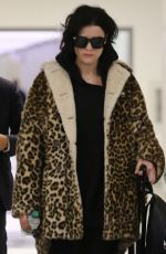 JAIMIE ALEXANDER at LAX Airport in Los Angeles 01/19/2018