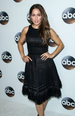 JAINA LEE ORTIZ at ABC All-star Party at TCA Winter Press Tour in Los Angeles 01/08/2018
