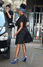 JAMELIA DAVIS Arrives at ITV Studios in London 01/29/2018