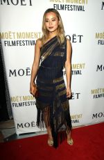 JAMIE CHUNG at 3rd Annual Moet Moment Film Festival Golden Globes Week in Los Angeles 01/05/2018