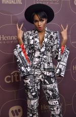 JANELLE MONAE at Delta Airlines Pre-grammy Party in New York 01/25/2018