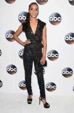 JASMIN SAVOY BROWN at ABC All-star Party at TCA Winter Press Tour in Los Angeles 01/08/2018