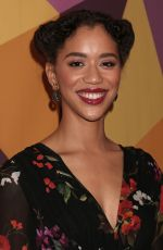JASMIN SAVOY BROWN at HBO's Golden Globe Awards After-party in Los Angeles 01/07/2018
