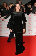 JASMINE ARMFIELD at National Television Awards in London 01/23/2018