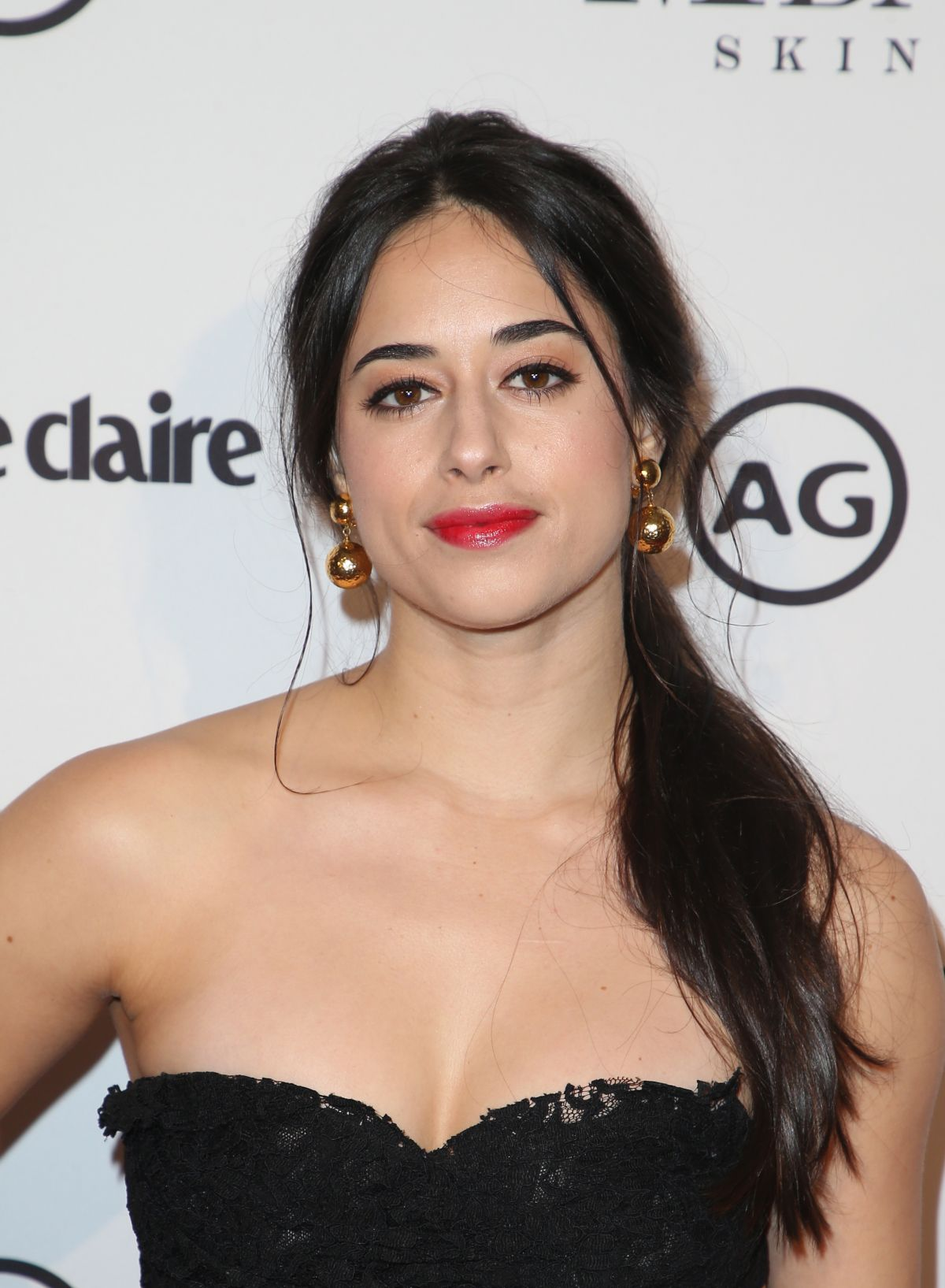 JEANINE MASON at Marie Claire Image Makers Awards in Los