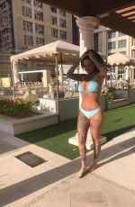 JEMMA LUCY in Bikini on Vacation in Dubai 01/06/2018