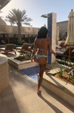JEMMA LUCY in Bikini on Vacation in Dubai 01/06/2018