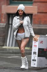 JEMMA LUCY Out in Manchester 01/26/2018